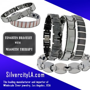 Tungsten Bracelets with Magnetic Therapy