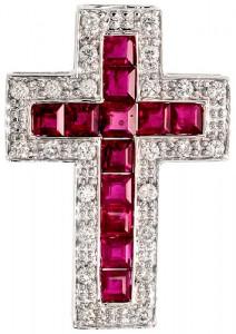 Latin Cross Pendant