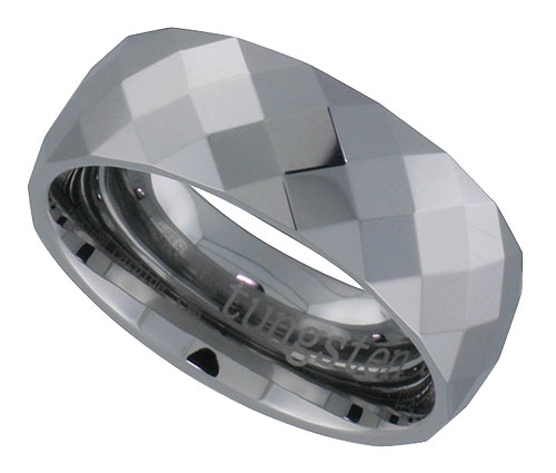 Faceted Wedding Bands