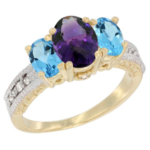 3-Stone Rings