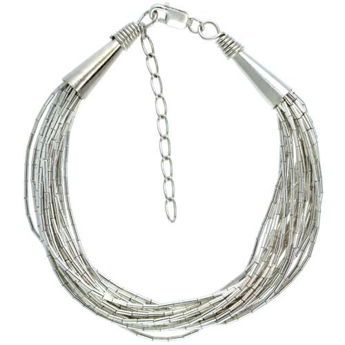 Liquid Silver Bracelets