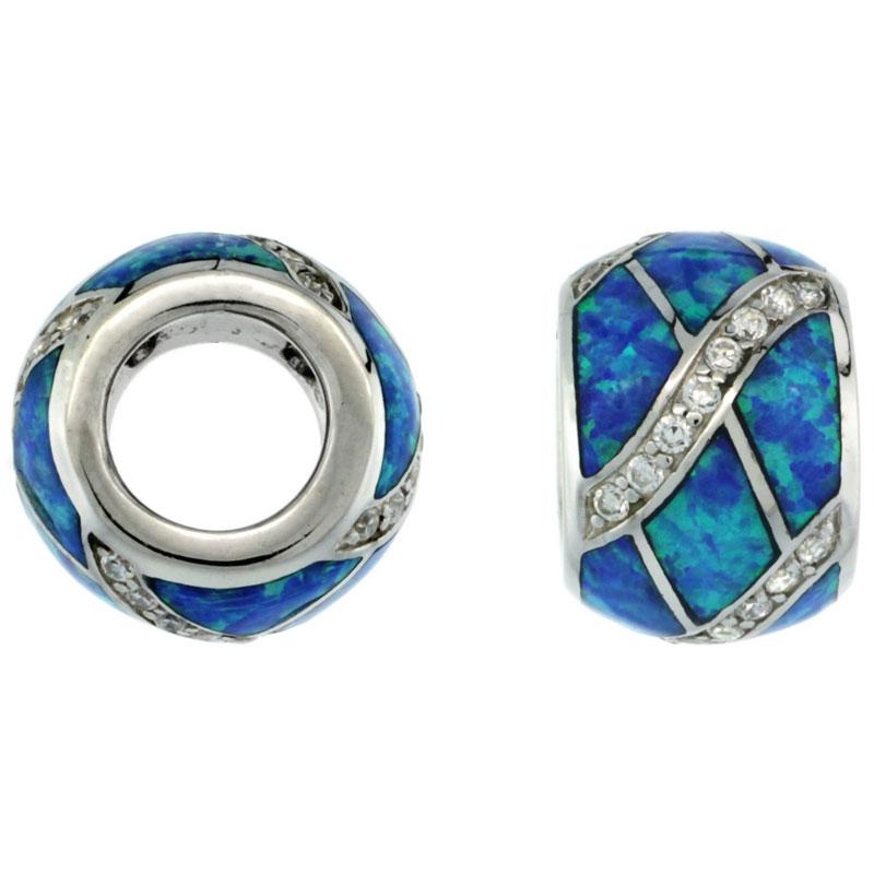 Lab Created Opal Beads