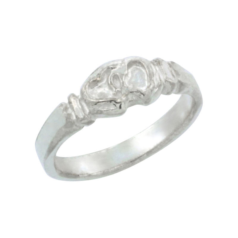 Sterling Silver Knot Baby Ring / Kid's Ring / Toe Ring (Available in Size 1 to 5)