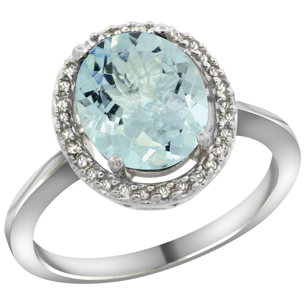 ringmarch product natural aquamarine pytell wedding ring p march set engagement theresa blue silver cut sterling birthston jewelry birthstone bezel rings emerald