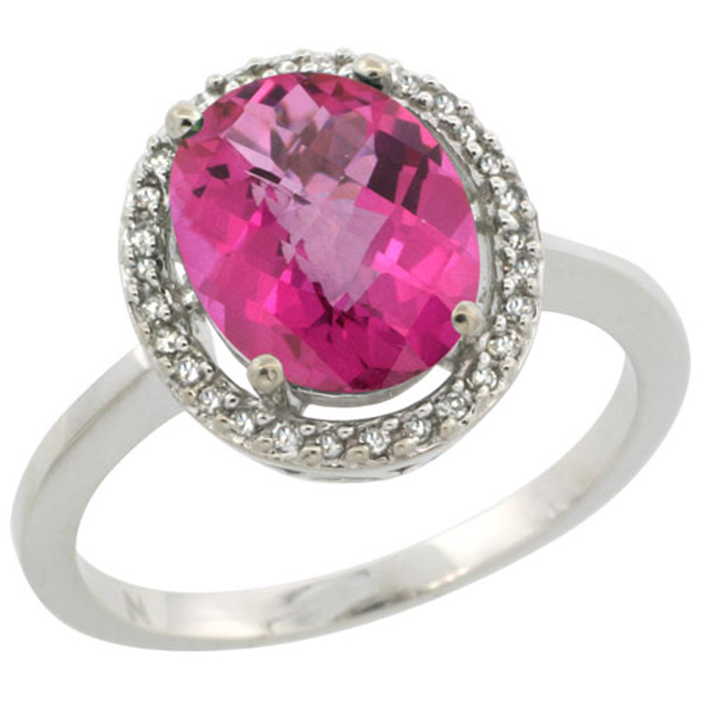 ring carat pink sapphire rose gold gemstone solitaire rings engagement in