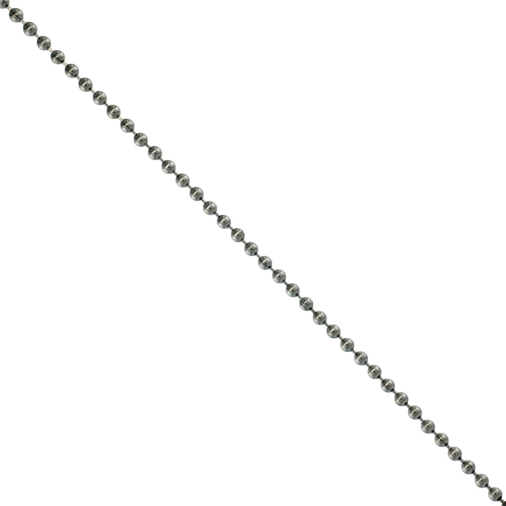 Stainless Steel Bead Ball Chain 1.5 mm By the Yard