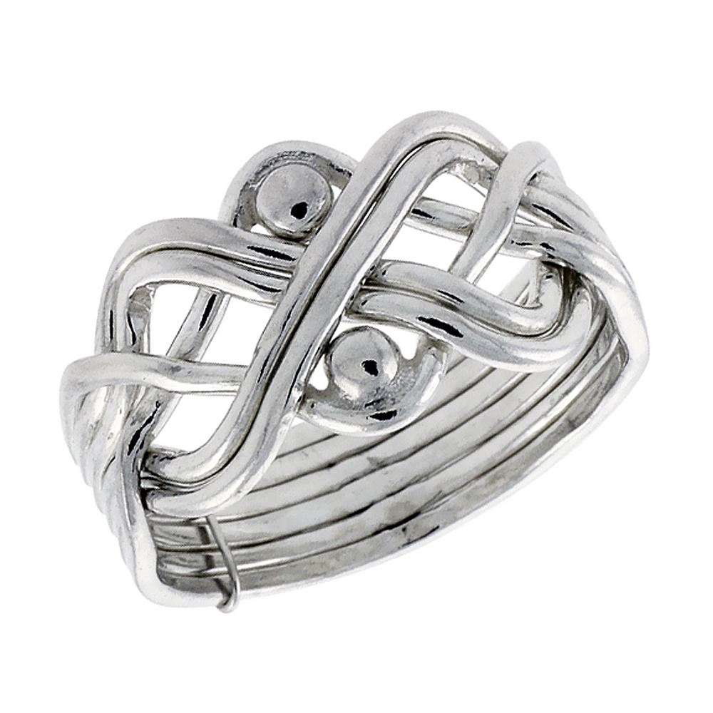p m rings sterling gold or platinum s ships home silver puzzle men adr free ring mens